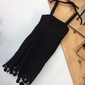 Catherine Malandrino Black Cotton dress excellent